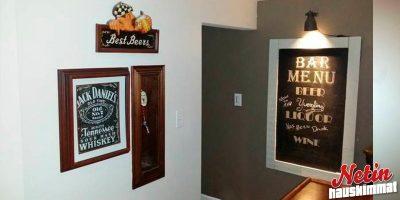 Kotibaari – Mies rakensi kaljahanan seinäänsä!