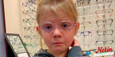 Tyttö itki, koska joutuu käyttämään silmälaseja – Ihanat ihmiset tukevat häntä!