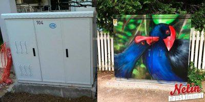 Taiteilijat maalaavat sähkökaappeja – Tässä niistä upeimmat!