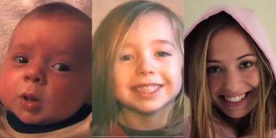 Isä kuvasi tytärtään 20 vuotta joka päivä – Katso uskomaton video!